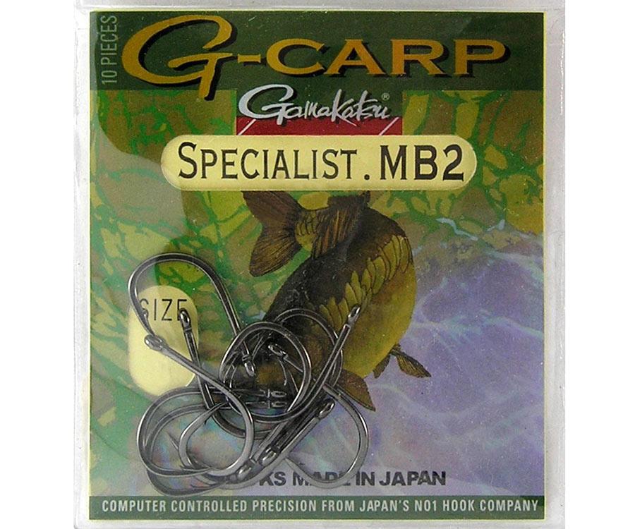 Крючок Gamakatsu G-Carp Specialist MB2 №1