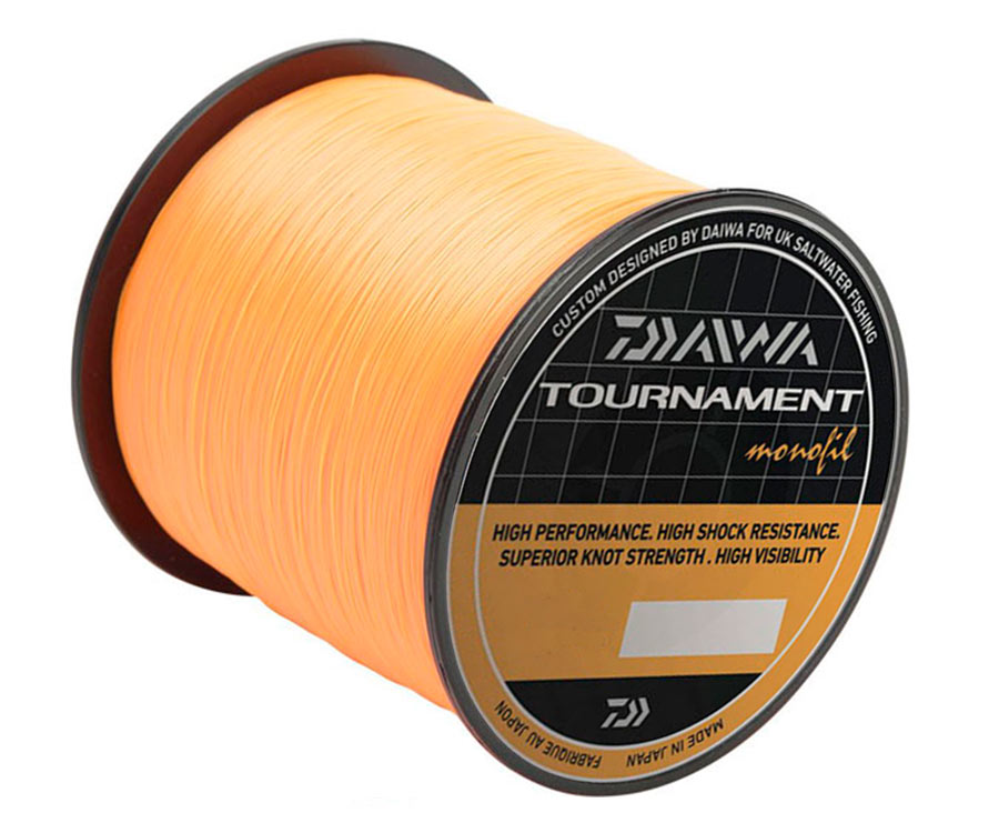 Леска Daiwa Tournament Monofil Orange 0,31 мм