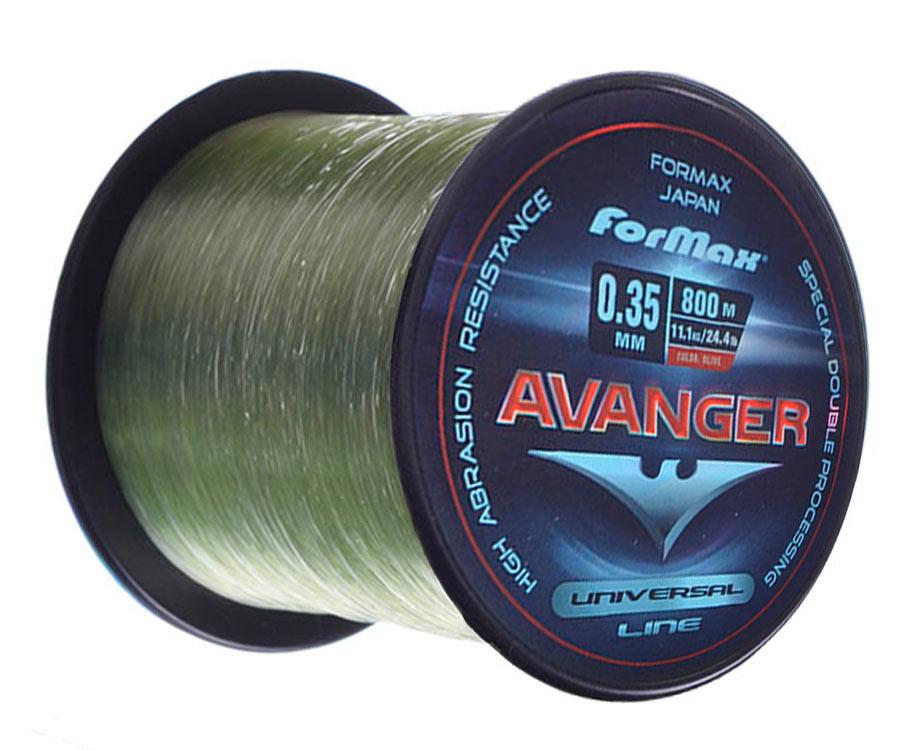 Леска ForMax Avanger Olive 1/4 800 м, 0,35 мм