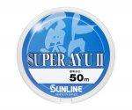 Леска Sunline Super Ayu II 50 м, 0,064 мм (№0,15)