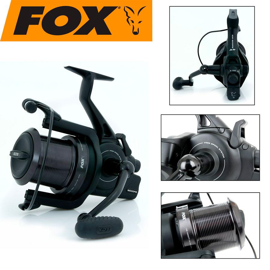 Катушка FOX  Eos 12000 FS с бэйтранером
