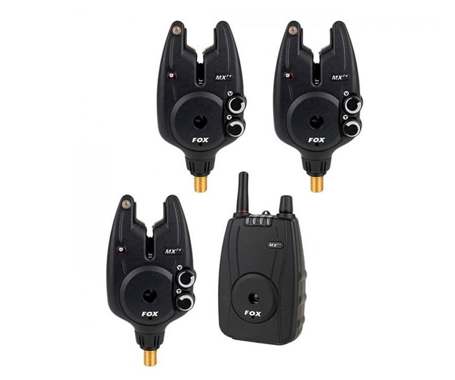 Купить Набор элетронных сигнализаторов поклевки FOX Micron MXR+ Multi Colour 3+1