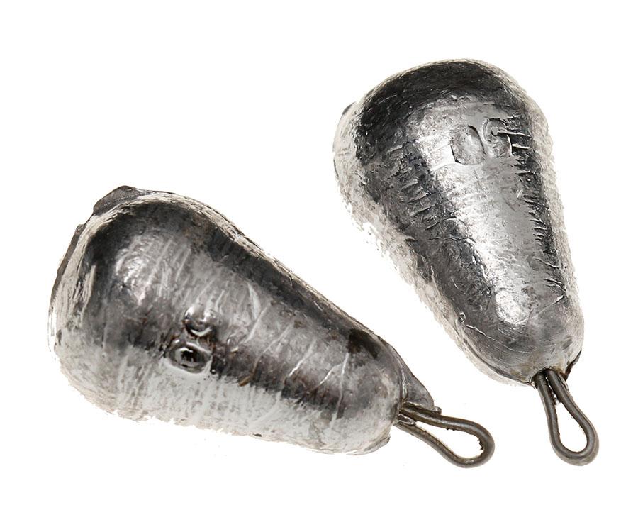 Груз каплевидный с петлей Flagman 50 г (2 шт)