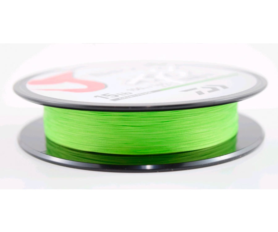 Шнур Daiwa J-Braid x8 Chartreuse 150м 0.16мм