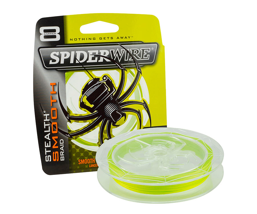 Шнур Spiderwire Stealth Smooth 8 Yellow 0.2мм 150м