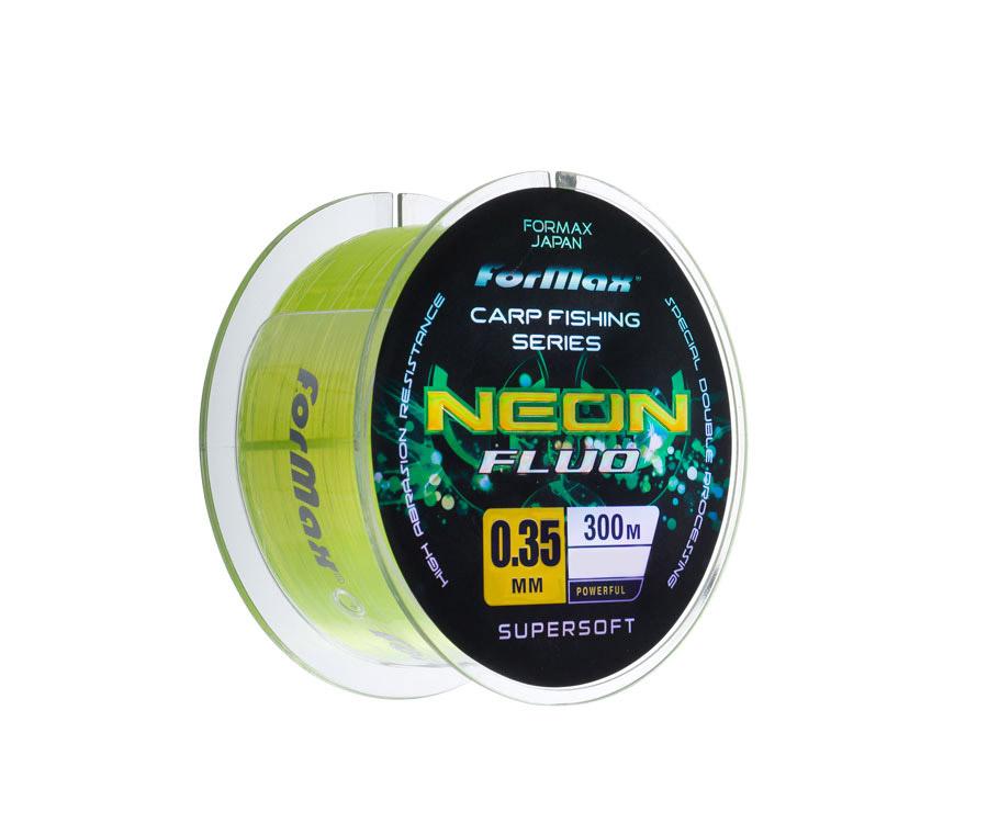 Леска ForMax Carp Neon Fluo 300 м, 0,35 мм