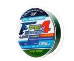 Шнур Flagman PE Hybrid F4 MossGreen 135м 0.12мм