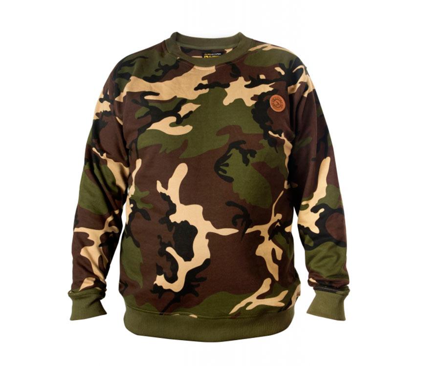 Реглан Avid Carp Sweatshirt Camouflage L