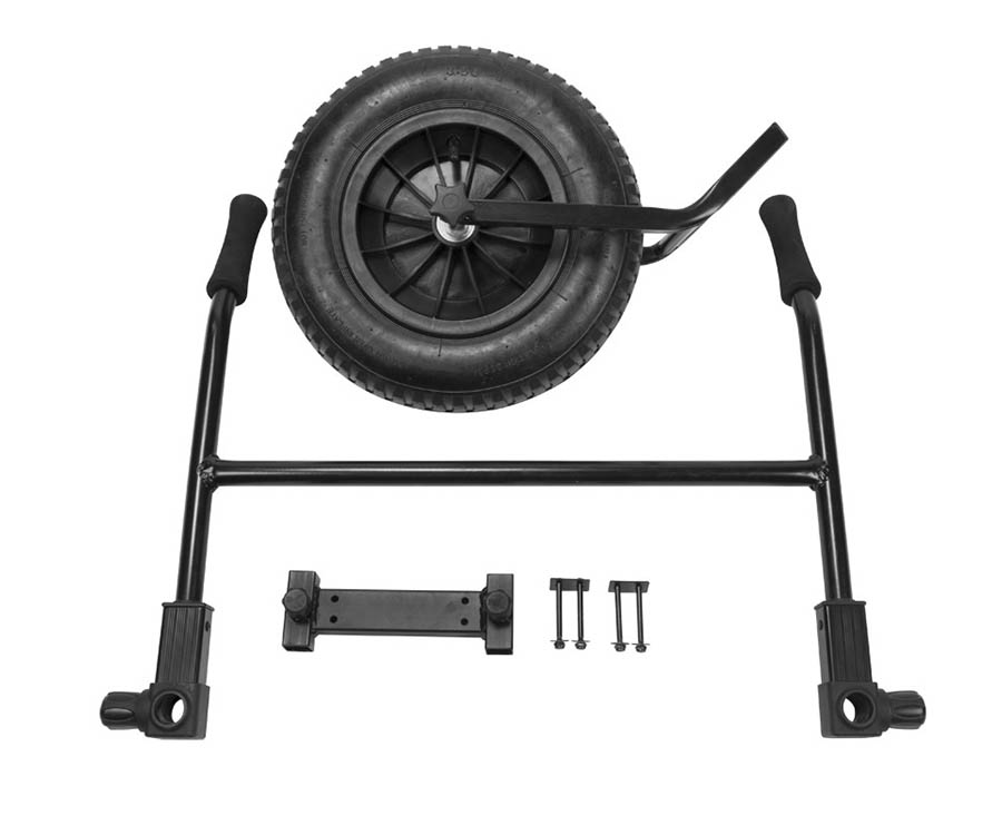 Набор: колесо+ручки Korum Accessory Chair X25 Barrow Kit