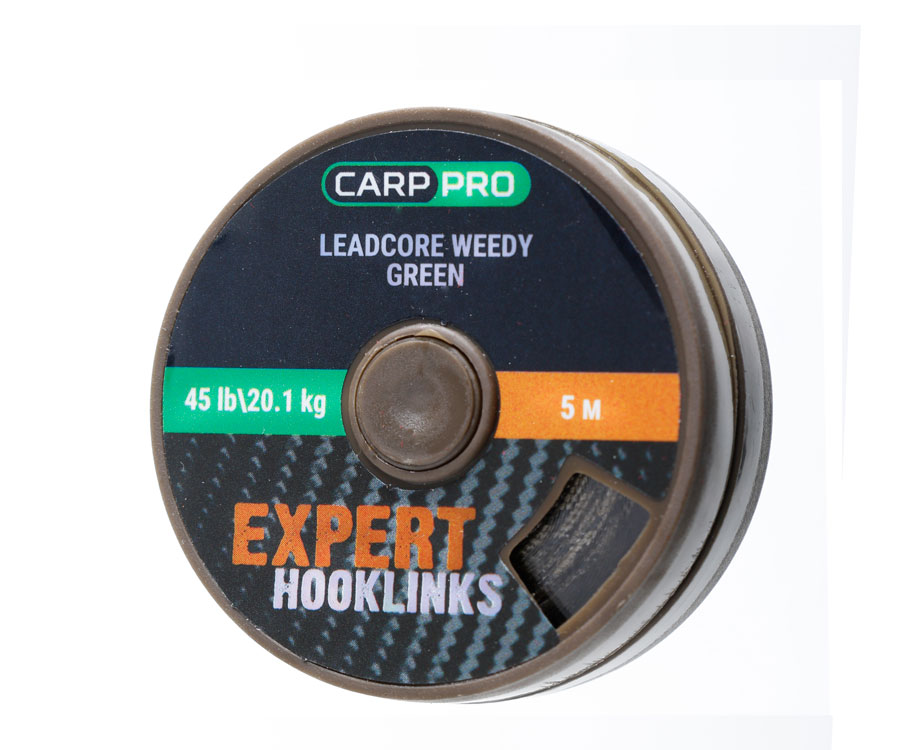 Ледкор зеленого цвета Carp Pro 5 м 45 lb
