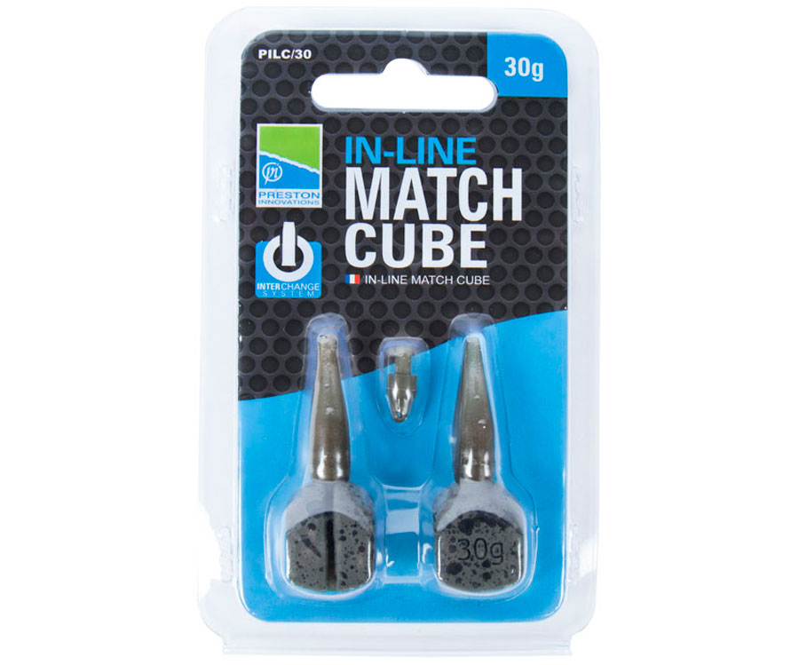 Грузило Preston In-Line Match Cube 30 г