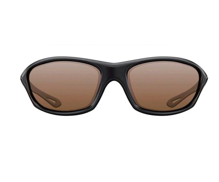 Очки Korda Sunglasses Wraps Gloss Black Brown Lens