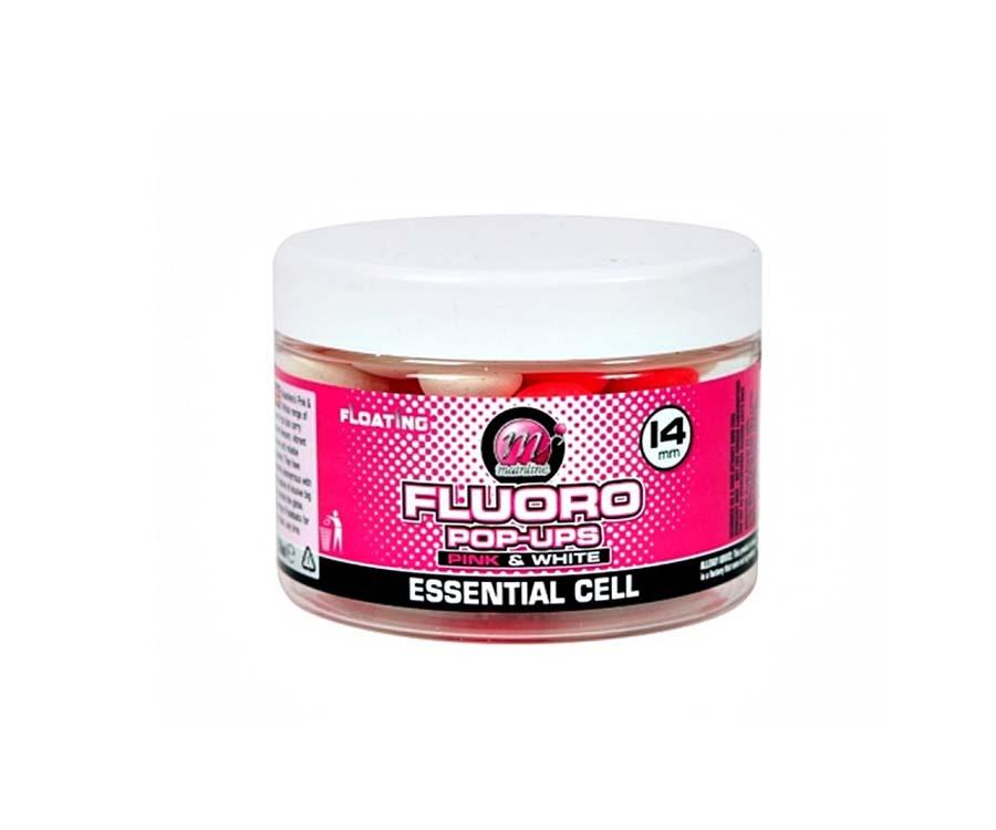 Бойлы Mainline Pop-Ups Pink & White Essential Cell 14 мм
