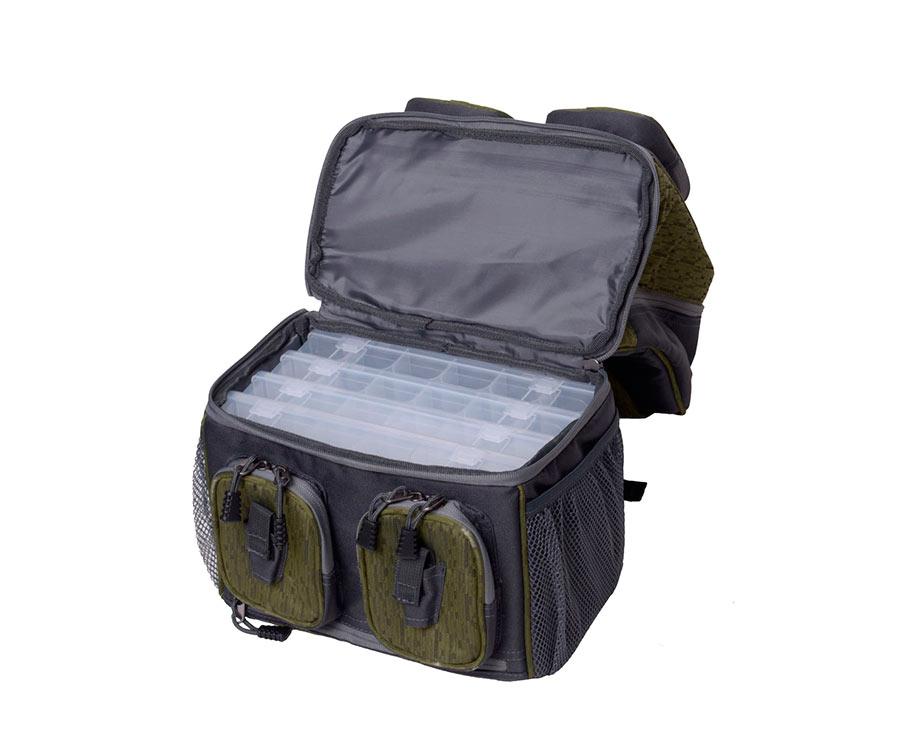 Рюкзак спининговый с коробками Flagman small