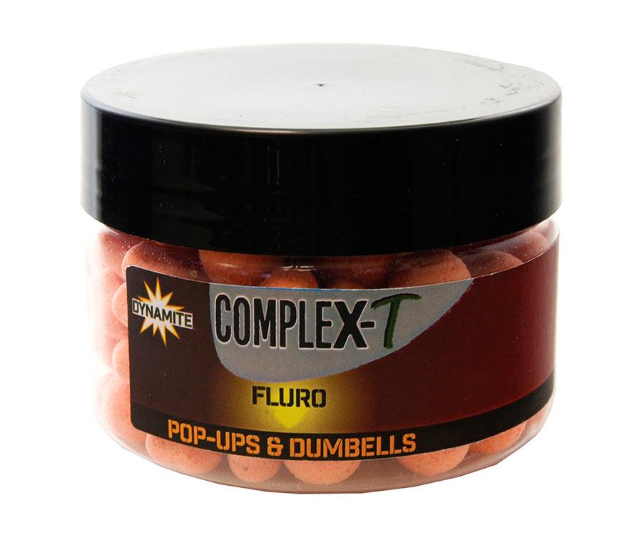 Бойлы Dynamite Baits Pop-Ups & Dumbells CompleX-T Fluro 10 мм