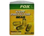 Бусина буферная FOX Knot Protector Bead Brown