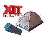 Комплект Flagman Палатка Monodome и спальный мешок Pilot