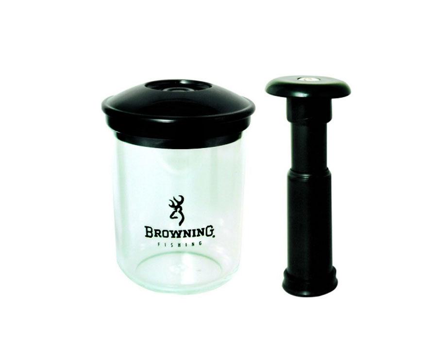 Вакуумный контейнер с помпой Browning Pellet Pump 0,5л