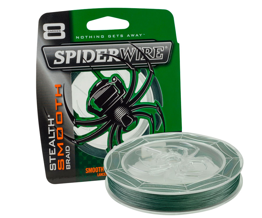 Шнур Spiderwire Stealth Smooth 8 Moss Green 0.14мм 150м
