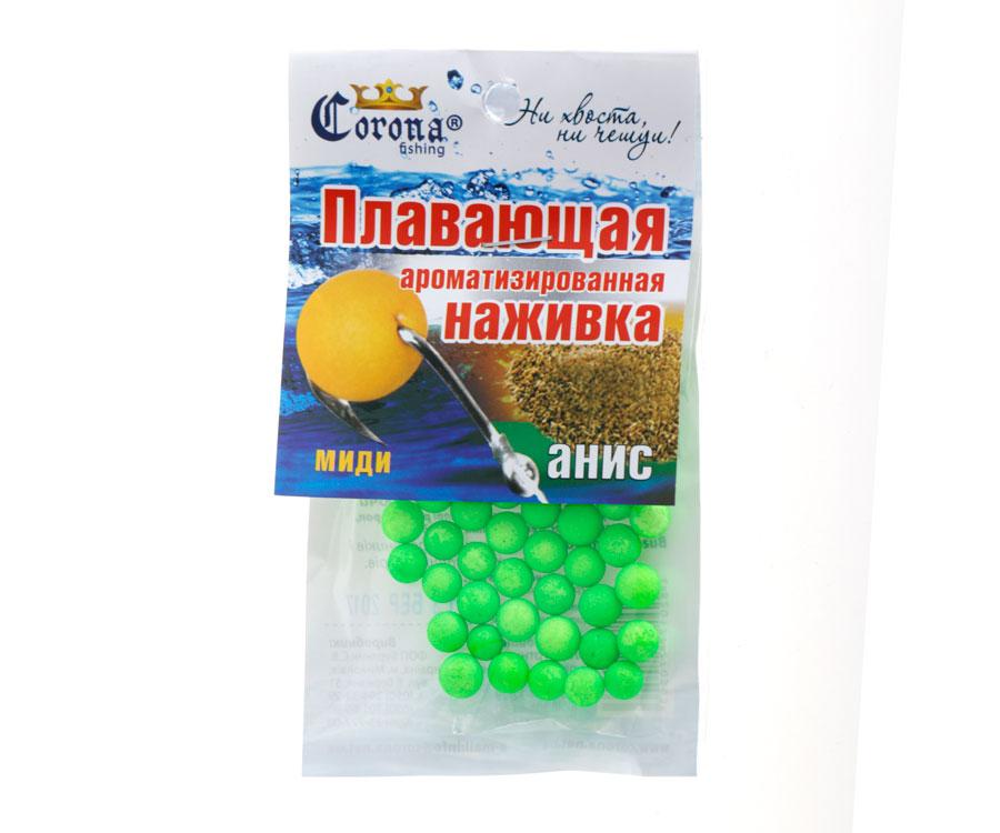 Пенопластовые шарики Corona fishing Анис (миди)