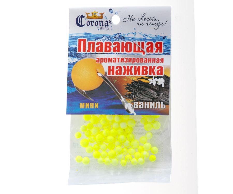 Пенопластовые шарики Corona fishing Ваниль (мини)