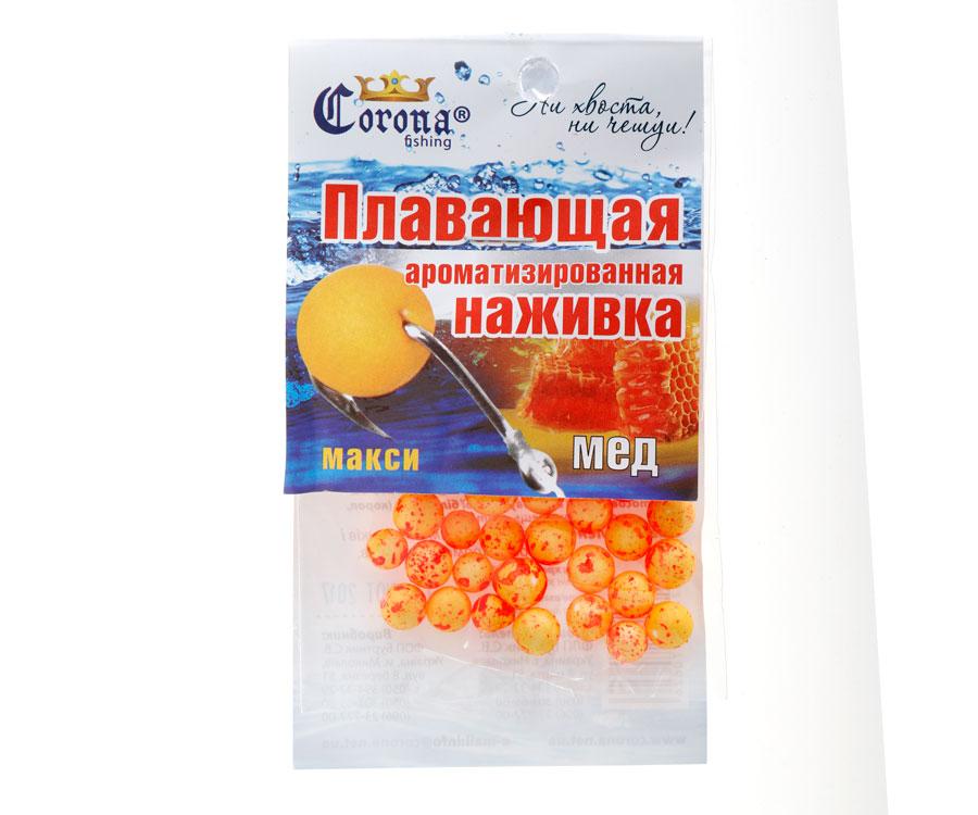 Пенопластовые шарики Corona fishing Мед (макси)
