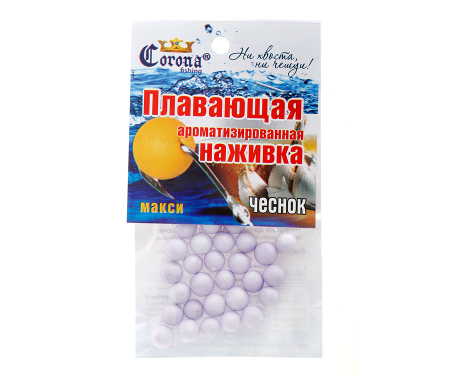 Пенопластовые шарики Corona fishing Чеснок (макси)