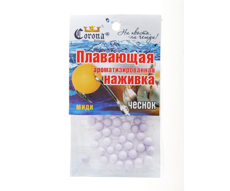 Пенопластовые шарики Corona fishing Чеснок (миди)