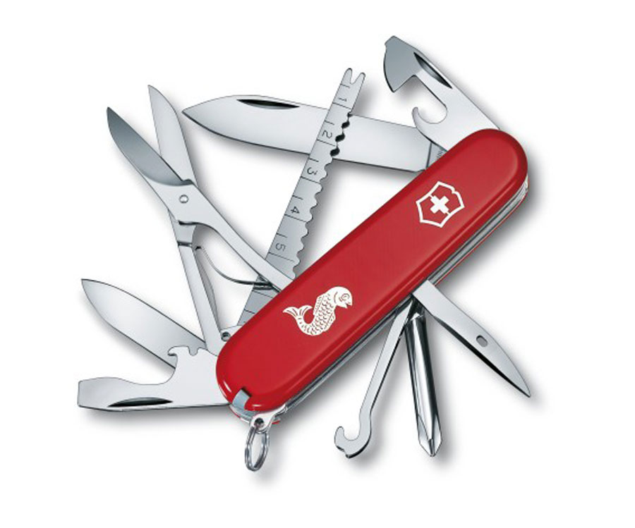 Мультитул Victorinox Swiss Army Fisherman 1.4733.72 красный