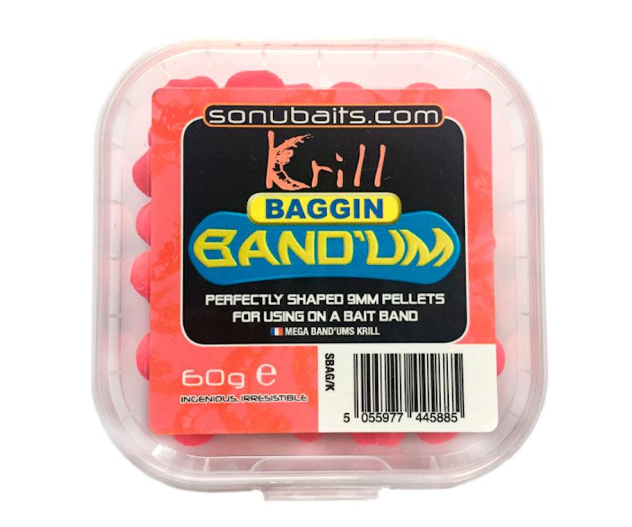 Пеллетс насадочный Sonubaits Band'Um 9 мм Krill