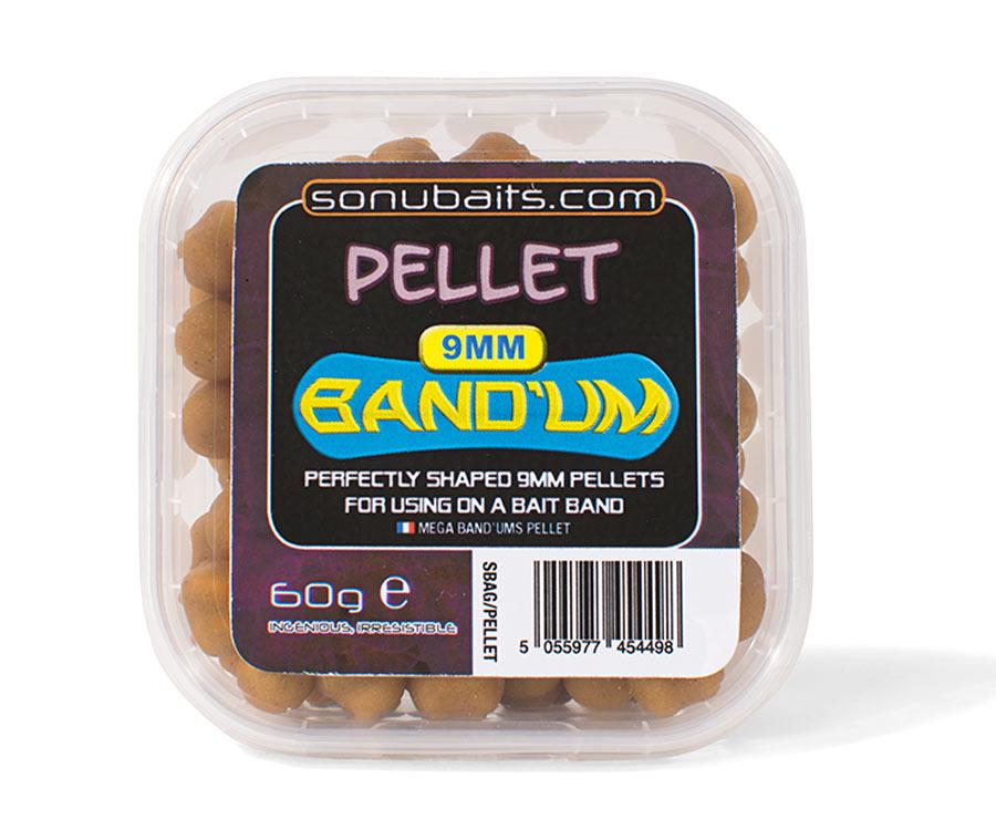 Пеллетс насадочный Sonubaits Band'Um 9 мм Pellet
