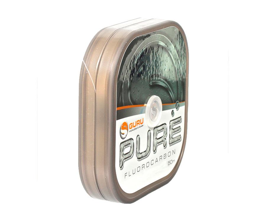 Леска Guru Pure Fluorocarbon 50м 0.18мм