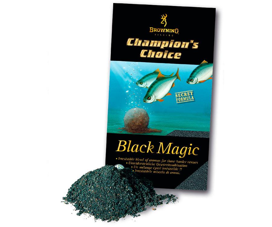 Прикормка Browning Groundbait Champions Choice Black Magic 1 кг