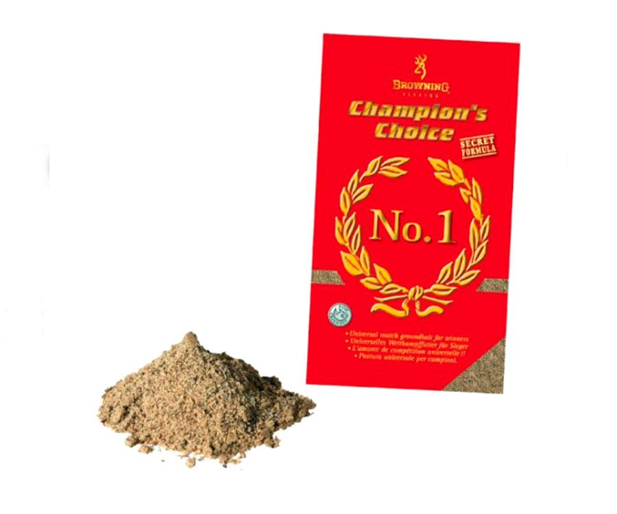 Прикормка Browning Groundbait Champions Choice №1, 1 кг