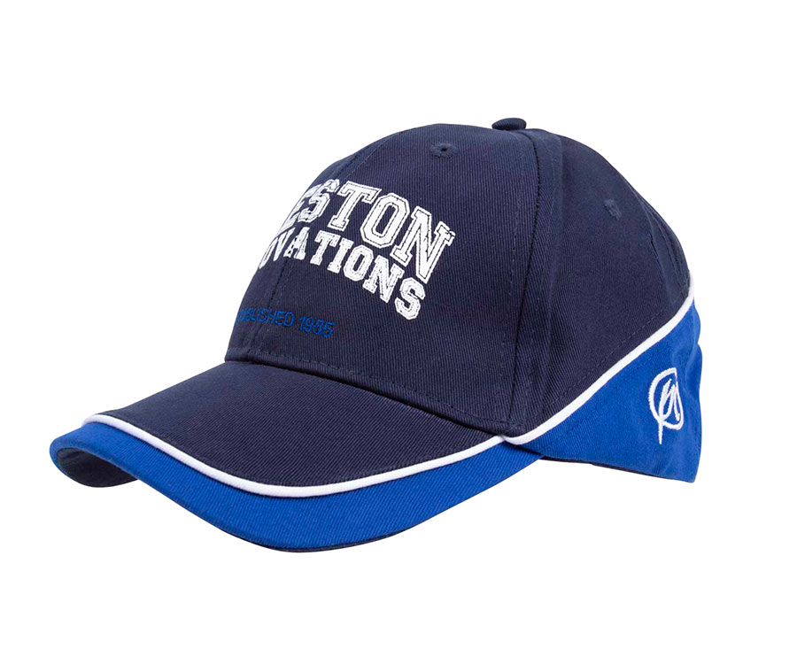 Купить Головные уборы, Кепка Preston Cap Blue With Blue And White Piping