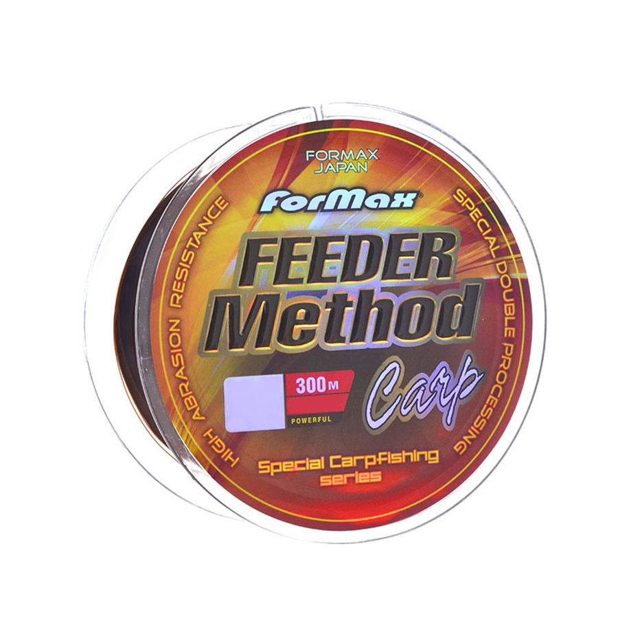 Леска ForMax Feeder Method Carp 300МТ 0,30 мм