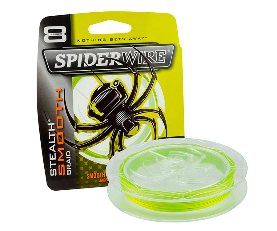 Шнур Spiderwire Stealth Smooth 8 Yellow 0.08мм 150м