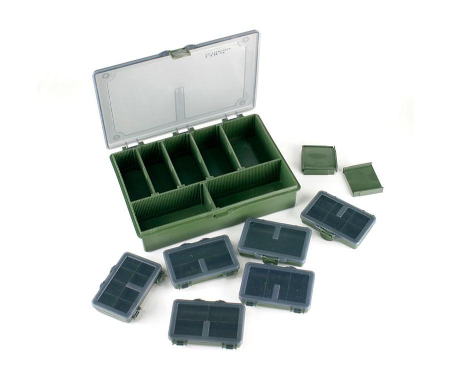 Коробка Carp Academy средняя 27Х20 + 6 маленьких коробок
