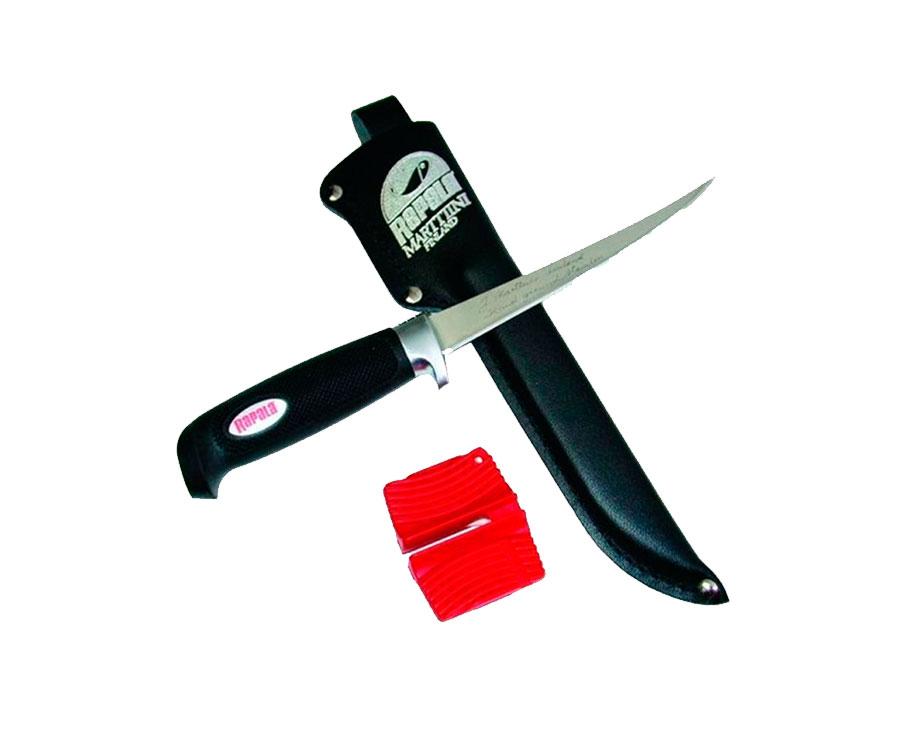 Нож филейный Rapala Soft Grip Fillet Knife 23см