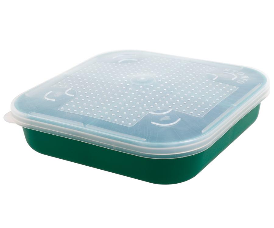 Коробка Stonfo для наживки квадрат. 4 отд. 0.7л Аrt.57-0.7