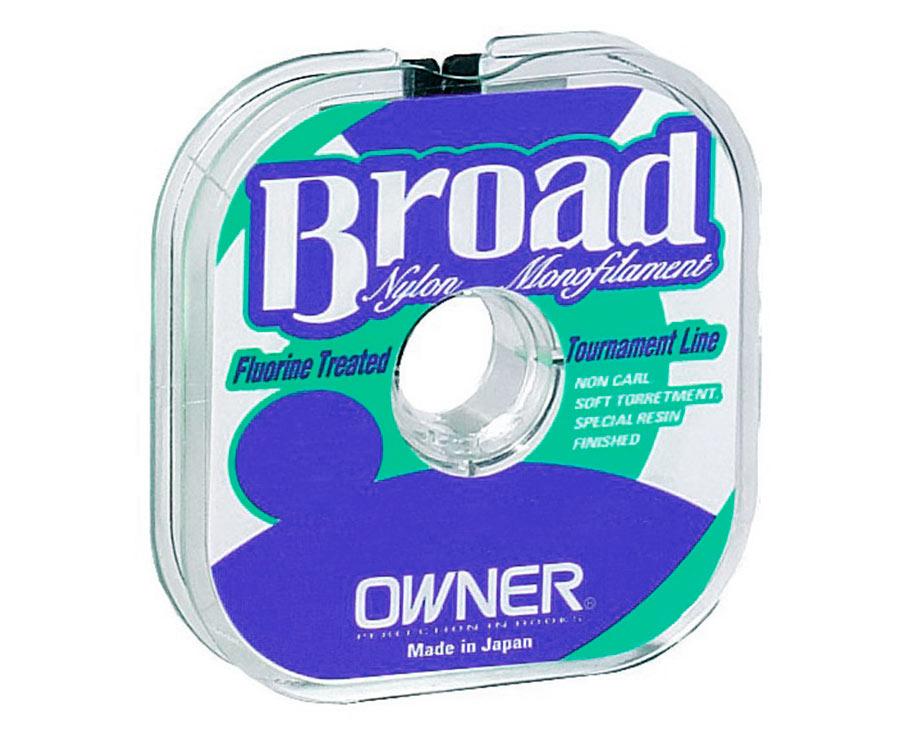Леска Owner Broad Green 100м 0.08мм