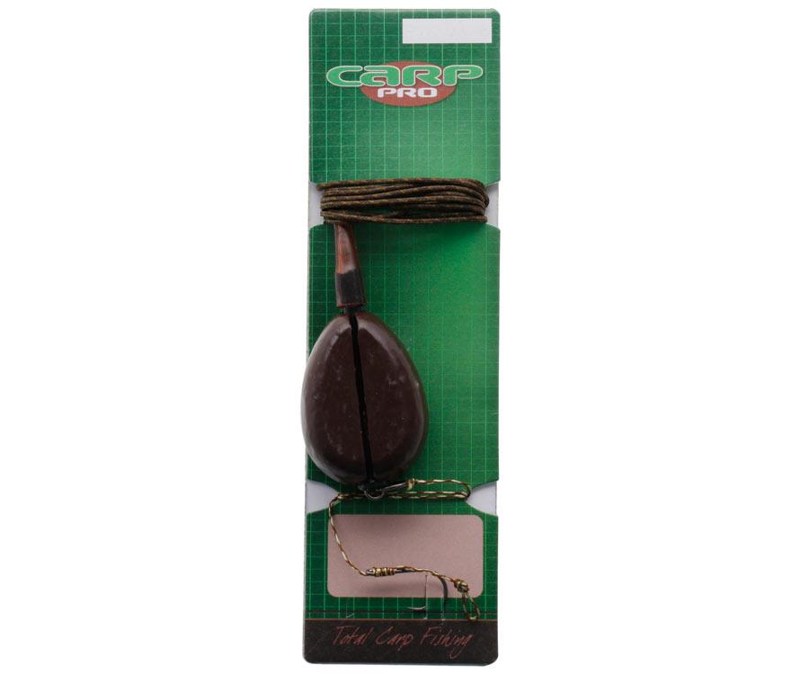 Оснастка карповая Carp Pro In-Line (груз, ледкор, крючок № 4)
