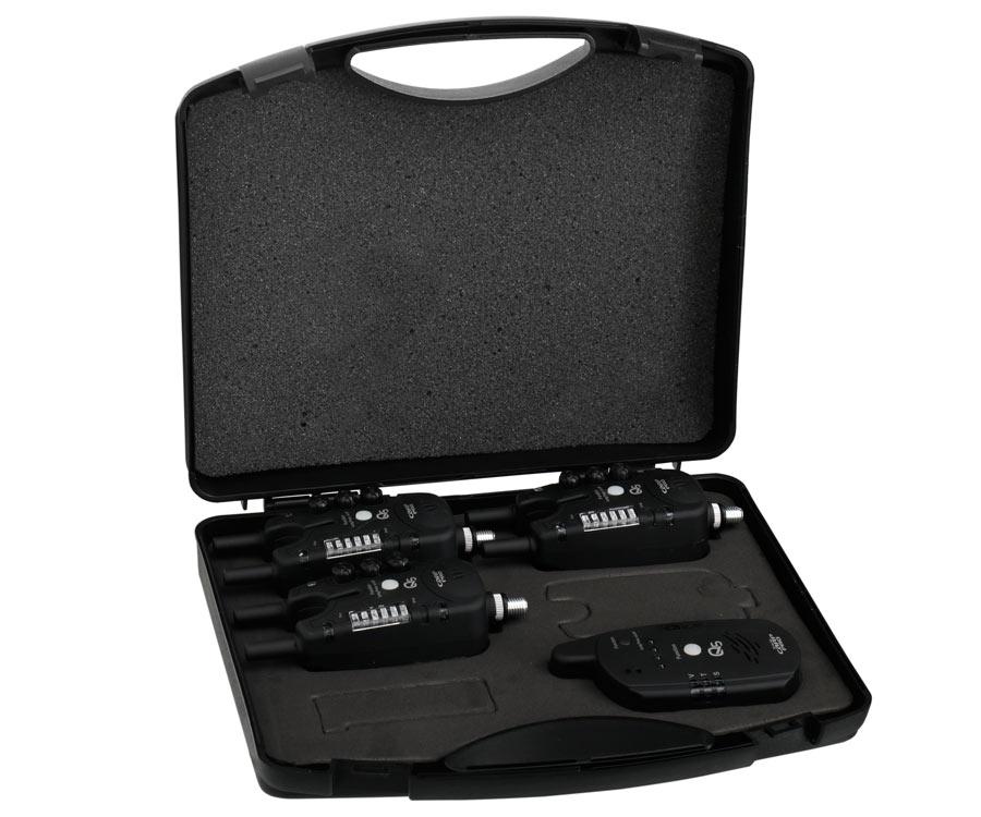 Купить Набор элетронных сигнализаторов поклевки Carp Pro Q5 3+1