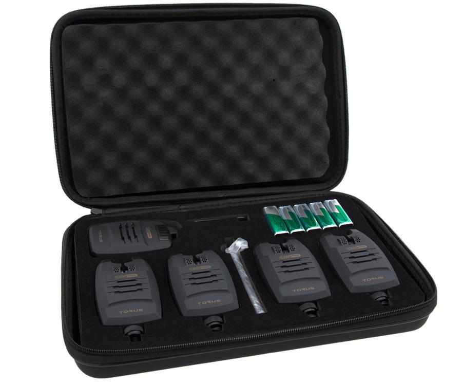 Купить Набор электронных сигнализаторов поклевки Carp Pro Torus 4+1