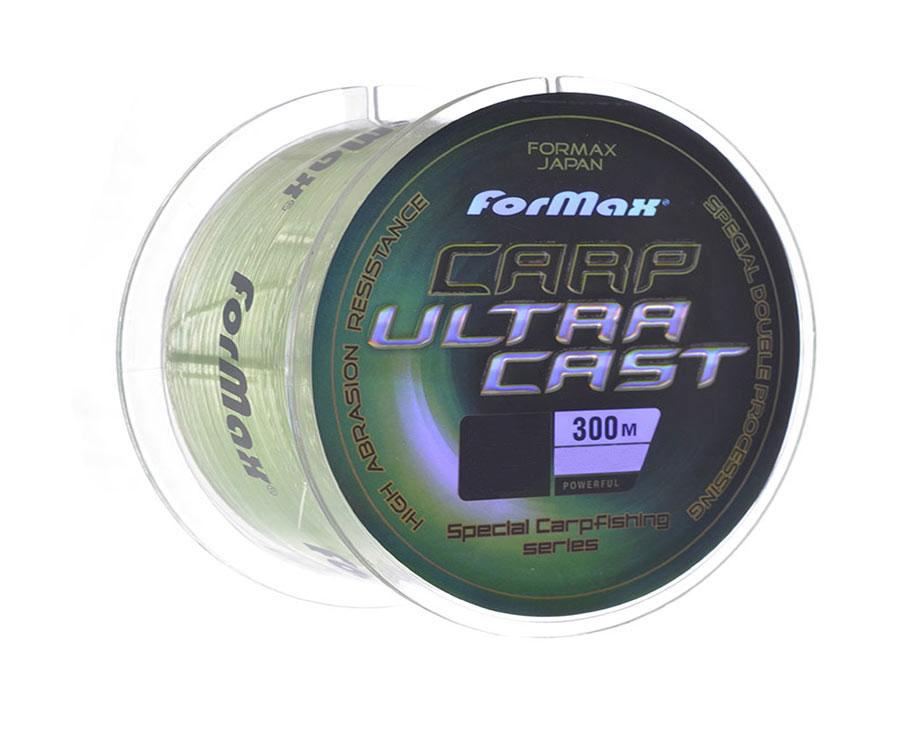 Леска ForMax Carp Ultra Cast 300 м, 0,25 мм