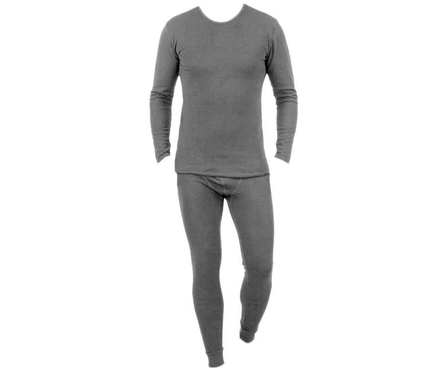 Комплект мужского термобелья NTL серый