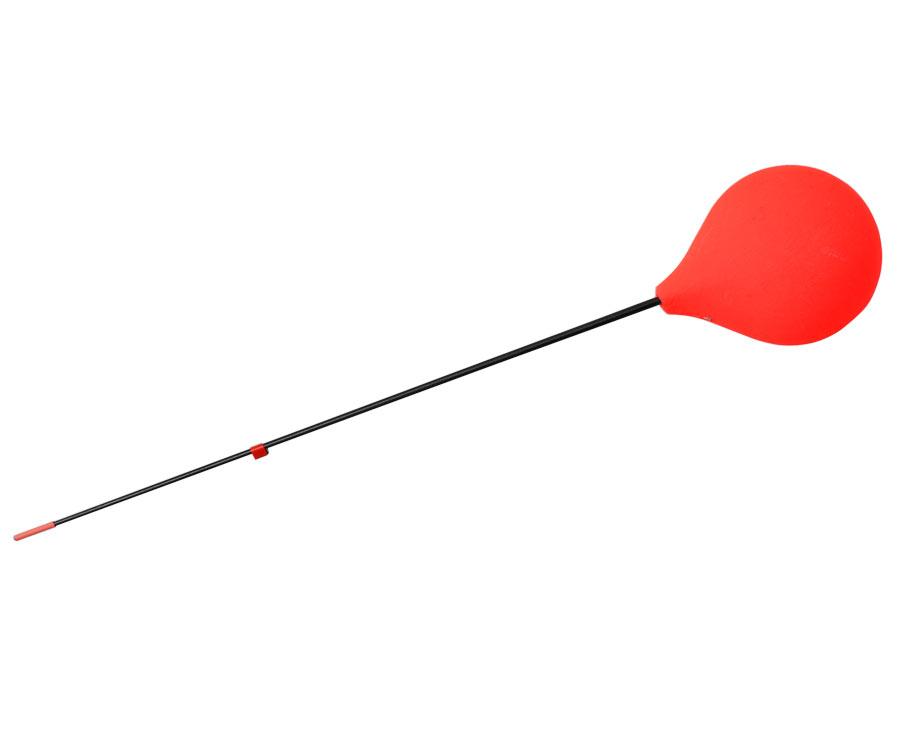 Зимний удильник Flagman Балалайка с пенопластовой ручкой красный