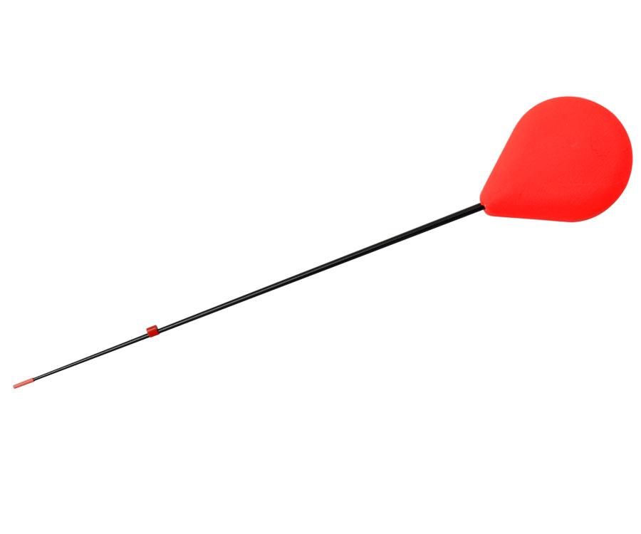 Зимний удильник Flagman Балалайка пена-sport стеклопластик красная