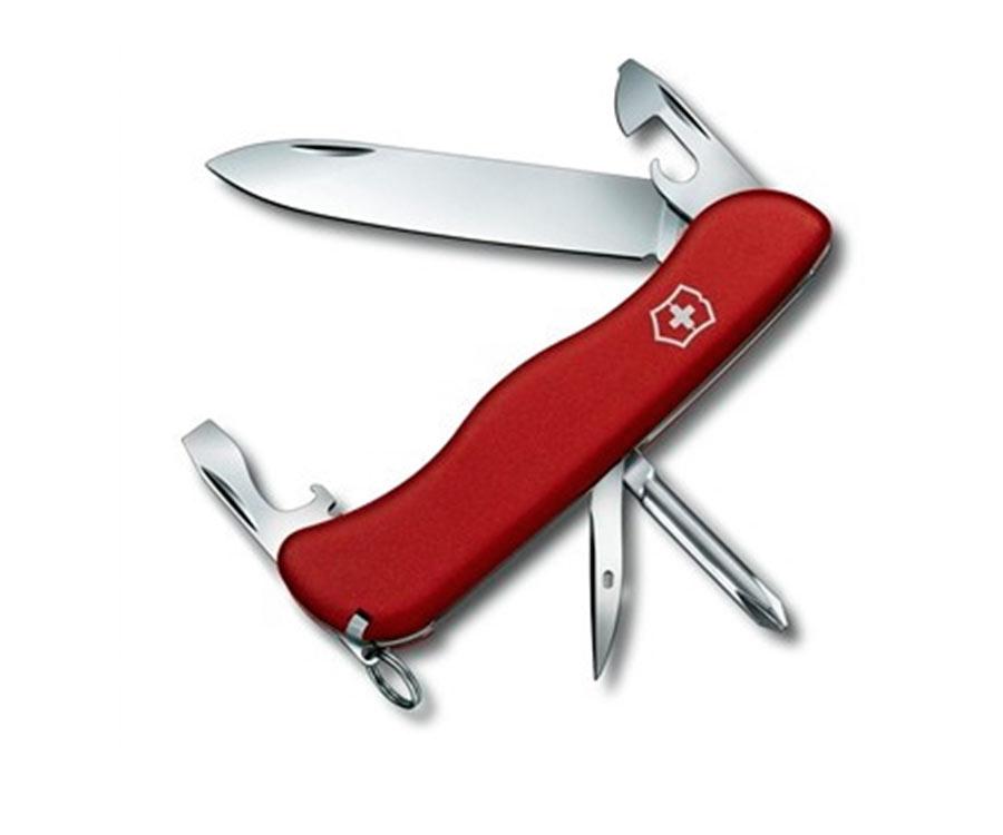Нож складной Victorinox Adventurer красный