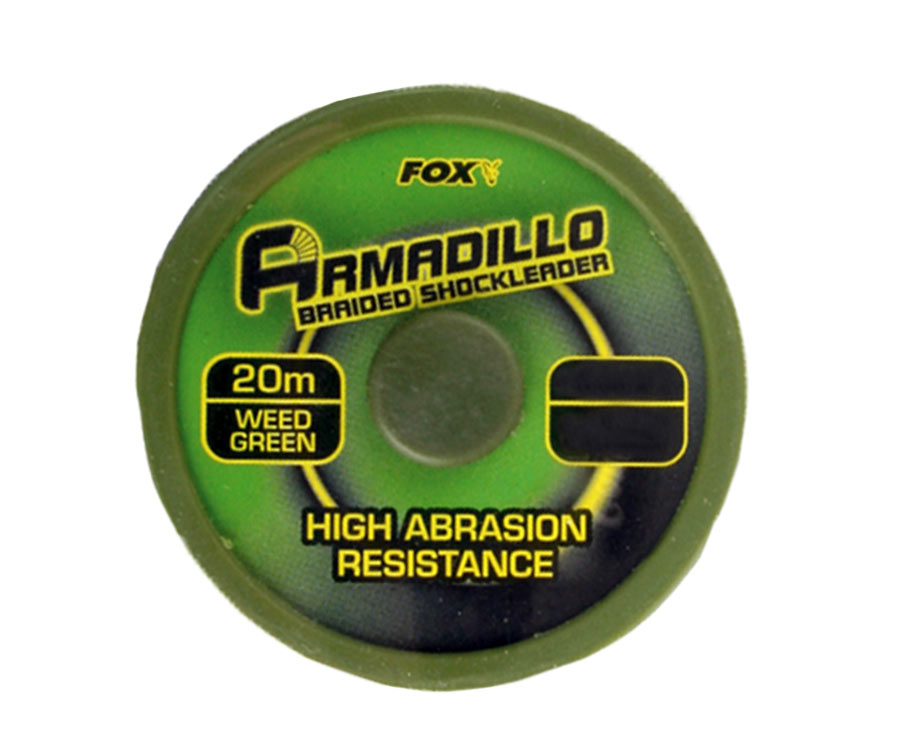 Шок-лидер FOX Armadillo 45 lb Green